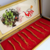 东北吉林长白山红参礼盒装 会议营销评点礼品 倒插礼品