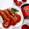四川成都川味儿 现货供应调味品纯纯番茄酱210g瓶装 厂家直销