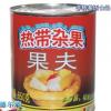 果夫杂果罐头 厂家直销烘焙菠萝什锦水果罐头850g 可贴牌代加工