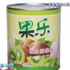 厂家直销果乐猕猴桃罐头 烘焙850g水果罐头 OEM贴牌