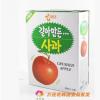 韩国进口饮品 海太苹果果肉果汁浓缩饮料 238ml*12*6