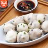 闸坡码头香菇鱼丸500g/袋 新鲜弹牙火锅丸子关东煮食材厂家直销