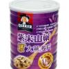 桂格台湾进口紫米山药 燕麦片700g 免煮即食无糖早餐冲饮