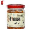 鹿肉野蘑酱瓶装 自制手工拌饭拌面酱下饭调味酱东北特产鹿肉酱
