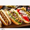 台灣中美火腿 美式脆皮大热狗 美式热狗肠 热狗面包专用 生产厂家