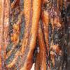新港腊味 广式腊肠香肠腊肉广东农家土猪手工生晒五花腊肉500克