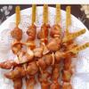 骨肉相连串20串烧烤鸡脆骨肉串奥尔良鸡肉串油炸冷冻食材半成品