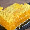 内蒙古百花蜜蜂巢蜜农家自产黑蜂蜜嚼着吃蜂蜜盒装500g蜂巢