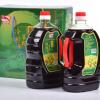 厂家直销 业华2L鑫红虾冷榨菜籽油 冷榨生鲜油菜籽色非转基因菜油