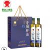 现货供应冷榨亚麻籽油 食用亚麻酸孕妇产妇月子油500ml*2礼盒装