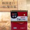 韩国原装进口清净园顺昌辣椒酱 超辣 炒年糕酱石锅拌饭酱14KG批发