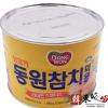 韩国进口东远金枪鱼罐头吞拿鱼原味罐头披萨沙拉拌饭 1.88kg*6 举